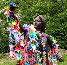 sudoku and the thousand paper cranes Sadako sasaki's determination to fold 1000 paper cranes, symbolizing her hope for peace and her courageous struggle with her illness,.